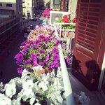 Balconcino fiorito.