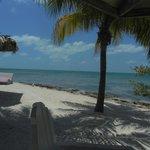 Sitting/sunning beach