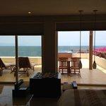 Our unbelievable terrace