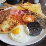 """The """"Full Scottish"""" breakfast"""