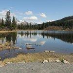 Rainbow lake, near Heavenly Lodge