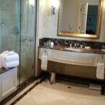 Ensuite of a deluxe king room