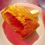 Freshly baked moist corn muffin :)