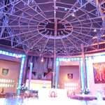 Colorful, modern Altar