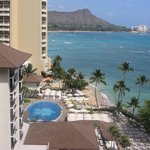 diamond head mountain view from room 1260