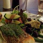 Lovely barramundi meal