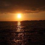 「ハゴス」から見た夕日