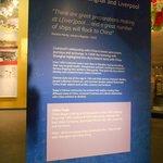 Signage regarding China and Liverpool