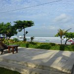 Overlook of Padma beach
