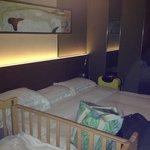 Superior room dengan baby cots