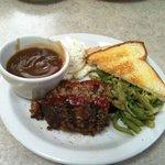Best meatloaf $8.95