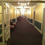 the third floor hallway