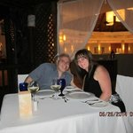 Our private Anniversary dinner