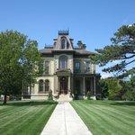 Front of David Davis Mansion