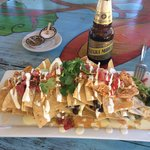 Delicious nachos...