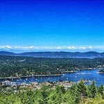 View from the balcony at Amazing View B&B Salt Spring