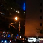 Blue Empire State Building for Ranger's Win in the Finals