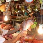 at Talipapa Fish market