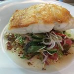 Coral trout fillet with Asian salad - a must-try!