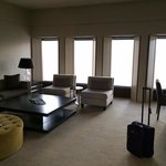 Lounge area of Suite on 50th floor