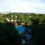 The outdoor pool.view from my room