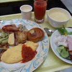 グランヴィア大阪、朝食バイキング