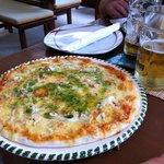 Pizza Mare Knoblauch