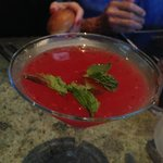Cocktail with delicious bite called En Fuego
