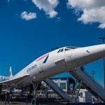 British Airways Concorde outside
