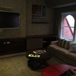 Level 6 - signature suite. Living room.