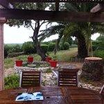 Terrasse de la mini villa