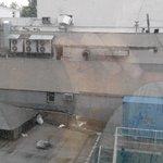 Вид из номеров, выходящих во двор.