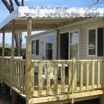mobil-home 4-6 personnes avec terrasse