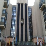 Fachada Hotel, Ascensores exteriores