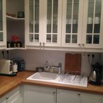 Small self serving kitchenette