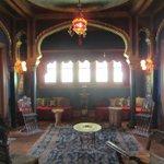 the Turkish salon