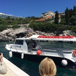The Radisson's own boat service to Dubrovnik's Old Town. Roughly 40 minute transfer by boat with