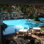 pool side at Mahaweli Reach