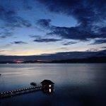 My room: Kinabalu Villa 852. Sunrise ,5:24am,  really great!