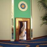 Front door to Club Suite 1907