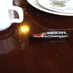 Café soluble au petit déjeuner