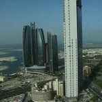 St Regis Hotel - View of Etihad Towers From 43rd Floor Suite