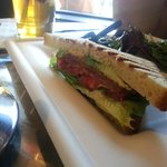 BLT and A(vocado) sandwich.