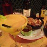 Mango Margarita & (complimentary) Corn Chips & Salsa Dip