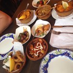 Yummy tapas to share!