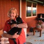 Libby und Katze