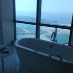 stunning view from bathroom on 31st floor