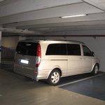Seven seater Mercedes tour van