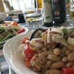 Arugula and parmesan