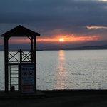 エーゲ海の朝陽